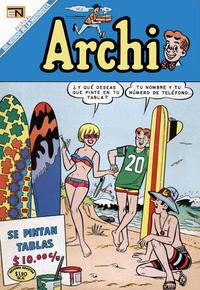 Cover Thumbnail for Archi (Editorial Novaro, 1956 series) #341