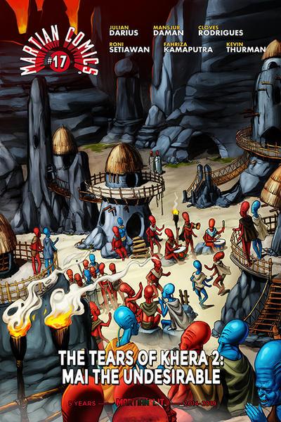 Cover for Martian Comics (Martian Lit, 2014 series) #17