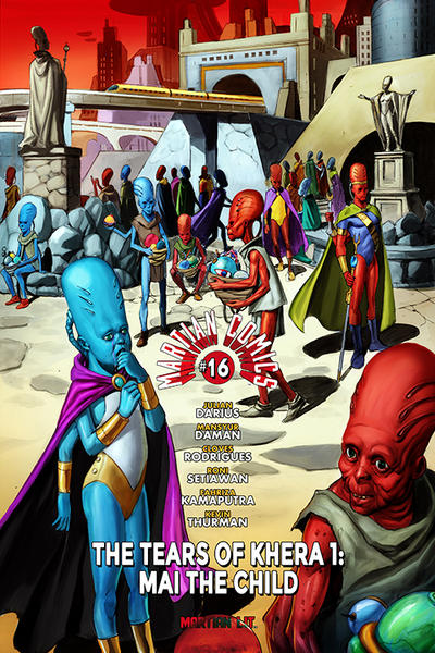 Cover for Martian Comics (Martian Lit, 2014 series) #16