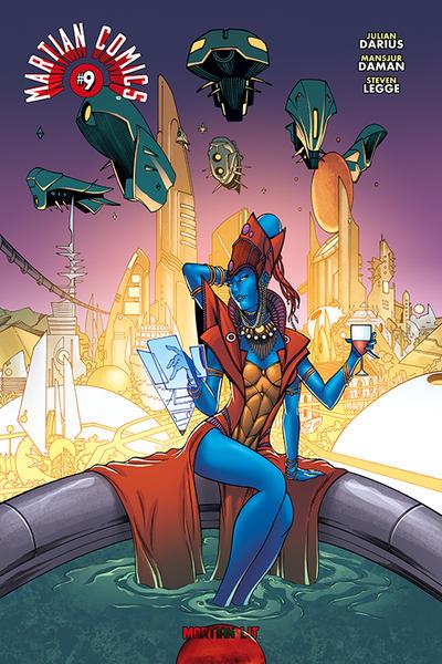 Cover for Martian Comics (Martian Lit, 2014 series) #9