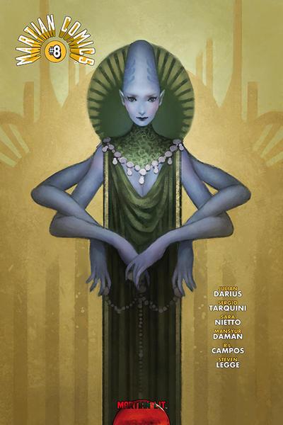 Cover for Martian Comics (Martian Lit, 2014 series) #8