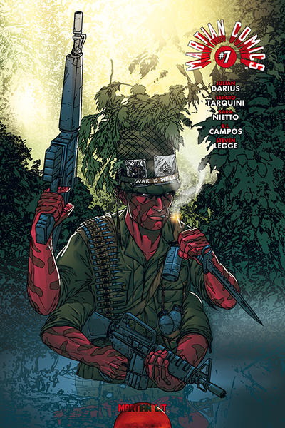 Cover for Martian Comics (Martian Lit, 2014 series) #7