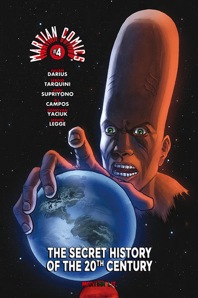 Cover for Martian Comics (Martian Lit, 2014 series) #4