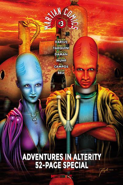 Cover for Martian Comics (Martian Lit, 2014 series) #3