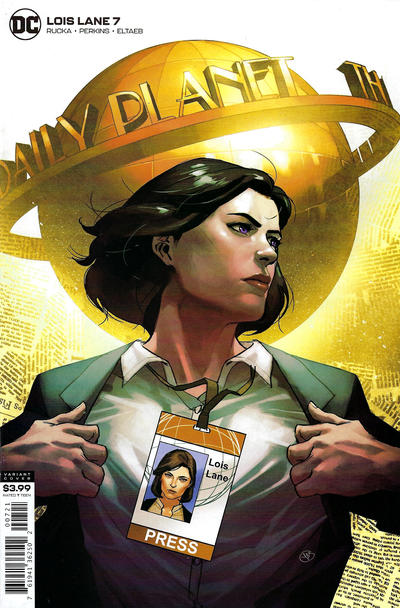 Cover for Lois Lane (DC, 2019 series) #7 [Yasmine Putri Cover]