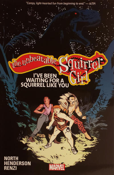 Cover for The Unbeatable Squirrel Girl (Marvel, 2015 series) #7 - I've Been Waiting for a Squirrel Like You