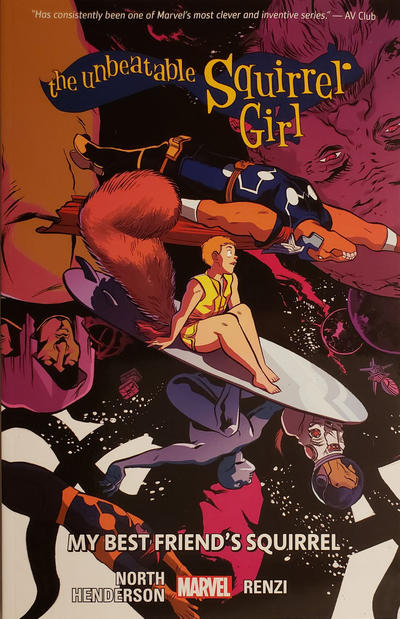 Cover for The Unbeatable Squirrel Girl (Marvel, 2015 series) #8 - My Best Friend's Squirrel