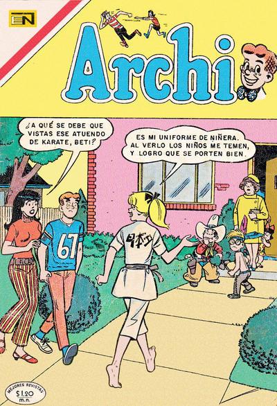 Cover for Archi (Editorial Novaro, 1956 series) #389