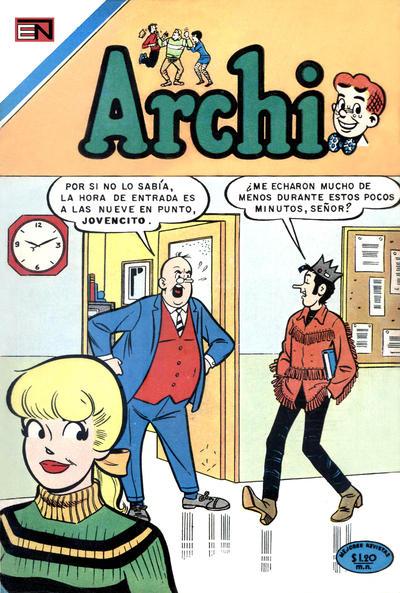 Cover for Archi (Editorial Novaro, 1956 series) #425