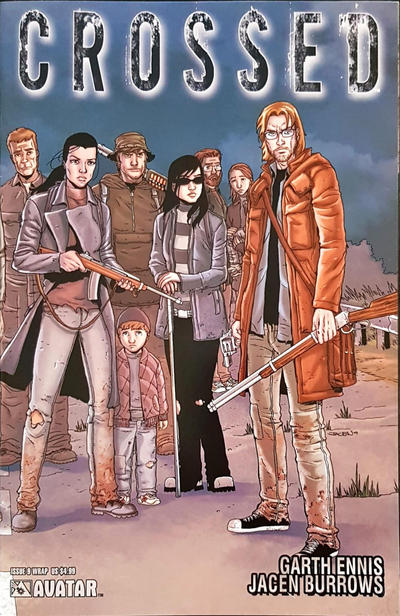 Cover for Crossed (Avatar Press, 2010 series) #9