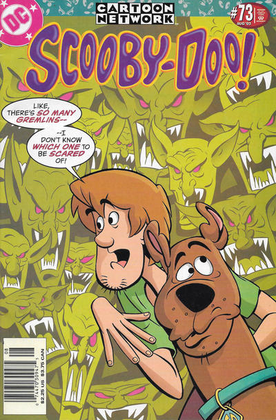 Cover for Scooby-Doo (DC, 1997 series) #73 [Newsstand]