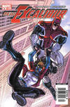 Cover for New Excalibur (Marvel, 2006 series) #9 [Newsstand]