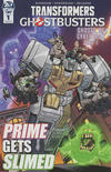 Cover for Transformers/Ghostbusters Issue #1 Ashcan (IDW, 2019 series) #1 Ashcan