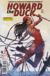Cover for Howard the Duck (Marvel, 2016 series) #11 [Variant Edition - The Defenders 'Elektra' - Jamal Campbell Cover]