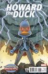 Cover for Howard the Duck (Marvel, 2016 series) #7 [Variant Edition - The Horsemen of Apocalypse - Bobby Rubio Cover]