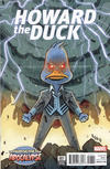 Cover for Howard the Duck (Marvel, 2016 series) #7 [Variant Edition - The Horsemen of Apocalypse - Bobby Rubio Cover]