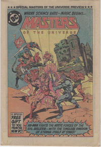 Cover Thumbnail for Masters of the Universe Preview (DC, 1982 series)