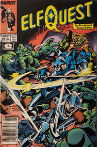 Cover Thumbnail for ElfQuest (Marvel, 1985 series) #30 [Newsstand]