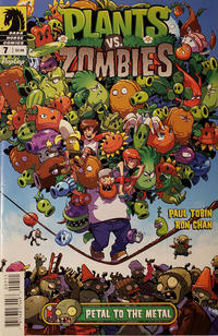 Cover Thumbnail for Plants vs Zombies (Dark Horse, 2015 series) #7