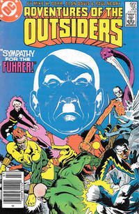Cover Thumbnail for Adventures of the Outsiders (DC, 1986 series) #35 [Canadian]