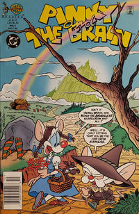 Cover Thumbnail for Pinky and the Brain (DC, 1996 series) #4 [Newsstand]