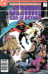 Cover Thumbnail for Jemm, Son of Saturn (DC, 1984 series) #1 [Canadian]