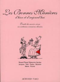 Cover Thumbnail for Les Bonnes Manières d'hier et d'aujourd'hui (Actes Sud, 2008 series)