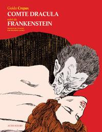 Cover Thumbnail for Comte Dracula suivi de Frankenstein (Actes Sud, 2014 series)
