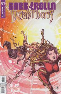 Cover Thumbnail for Barbarella/Dejah Thoris (Dynamite Entertainment, 2019 series) #1 [Cover A Zach Hsieh]