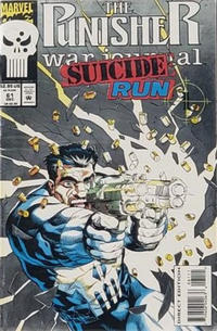 Cover Thumbnail for The Punisher War Journal (Marvel, 1988 series) #61 [Direct Edition]