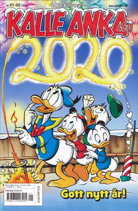Cover Thumbnail for Kalle Anka & C:o (Egmont, 1997 series) #1-2/2020