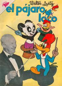 Cover Thumbnail for El Pájaro Loco (Editorial Novaro, 1951 series) #184