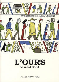 Cover Thumbnail for L'ours (Actes Sud, 2010 series)