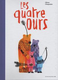 Cover Thumbnail for Les quatre ours (Actes Sud, 2018 series)