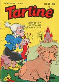 Cover Thumbnail for Tartine (Société Française de Presse Illustrée (SFPI), 1957 series) #46