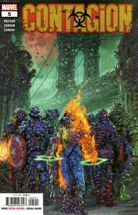 Cover Thumbnail for Contagion (Marvel, 2019 series) #5 [Juan José Ryp]