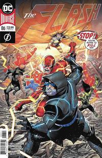 Cover Thumbnail for The Flash (DC, 2016 series) #86 [Rafa Sandoval & Jordi Tarragona Cover]
