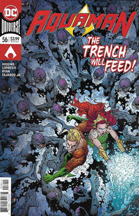 Cover Thumbnail for Aquaman (DC, 2016 series) #56 [Brad Walker & Andrew Hennessy Cover]