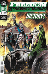 Cover Thumbnail for Freedom Fighters (DC, 2019 series) #12