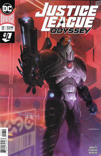 Cover Thumbnail for Justice League Odyssey (DC, 2018 series) #17 [Ladrönn Cover]