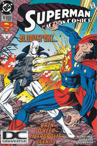 Cover Thumbnail for Action Comics (DC, 1938 series) #702 [DC Universe Corner Box]