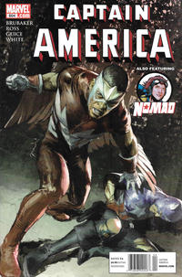 Cover Thumbnail for Captain America (Marvel, 2005 series) #604 [Newsstand]