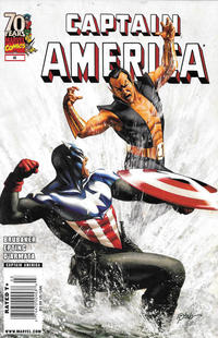 Cover Thumbnail for Captain America (Marvel, 2005 series) #46 [Newsstand]