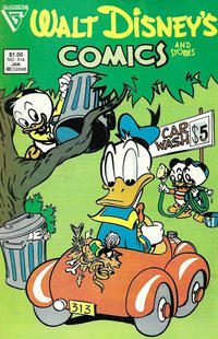 Cover for Walt Disney's Comics and Stories (Gladstone, 1986 series) #514