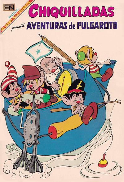 Cover for Chiquilladas (Editorial Novaro, 1952 series) #252