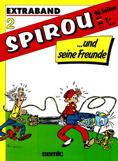 Cover for Spirou und seine Freunde (Carlsen Comics [DE], 1984 ? series) #2