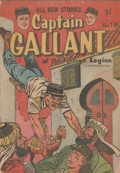 Cover for Captain Gallant (Cleland, 1957 ? series) #1