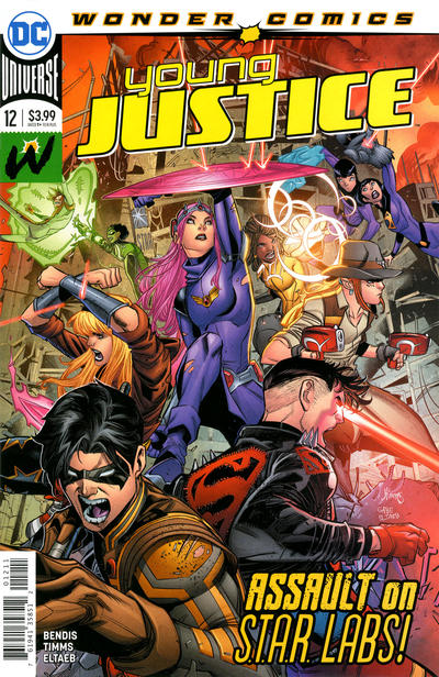 Cover for Young Justice (DC, 2019 series) #12