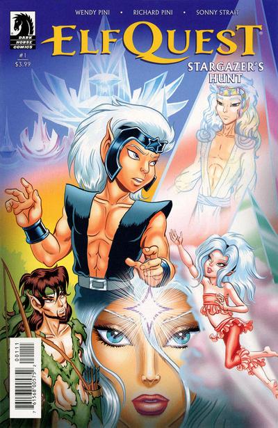 Cover for ElfQuest: Stargazer's Hunt (Dark Horse, 2019 series) #1