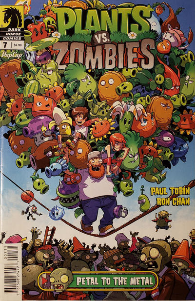 Cover for Plants vs Zombies (Dark Horse, 2015 series) #7
